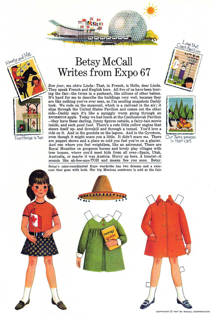 Betsy McCall at Expo 67