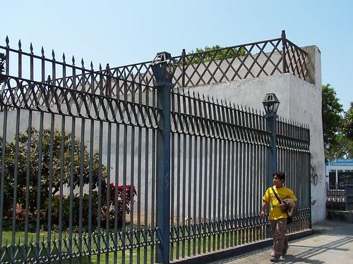 lado derecho de muralla
