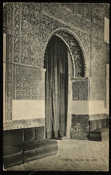 Casa de Mesa a principios del siglo XX. Foto Menor