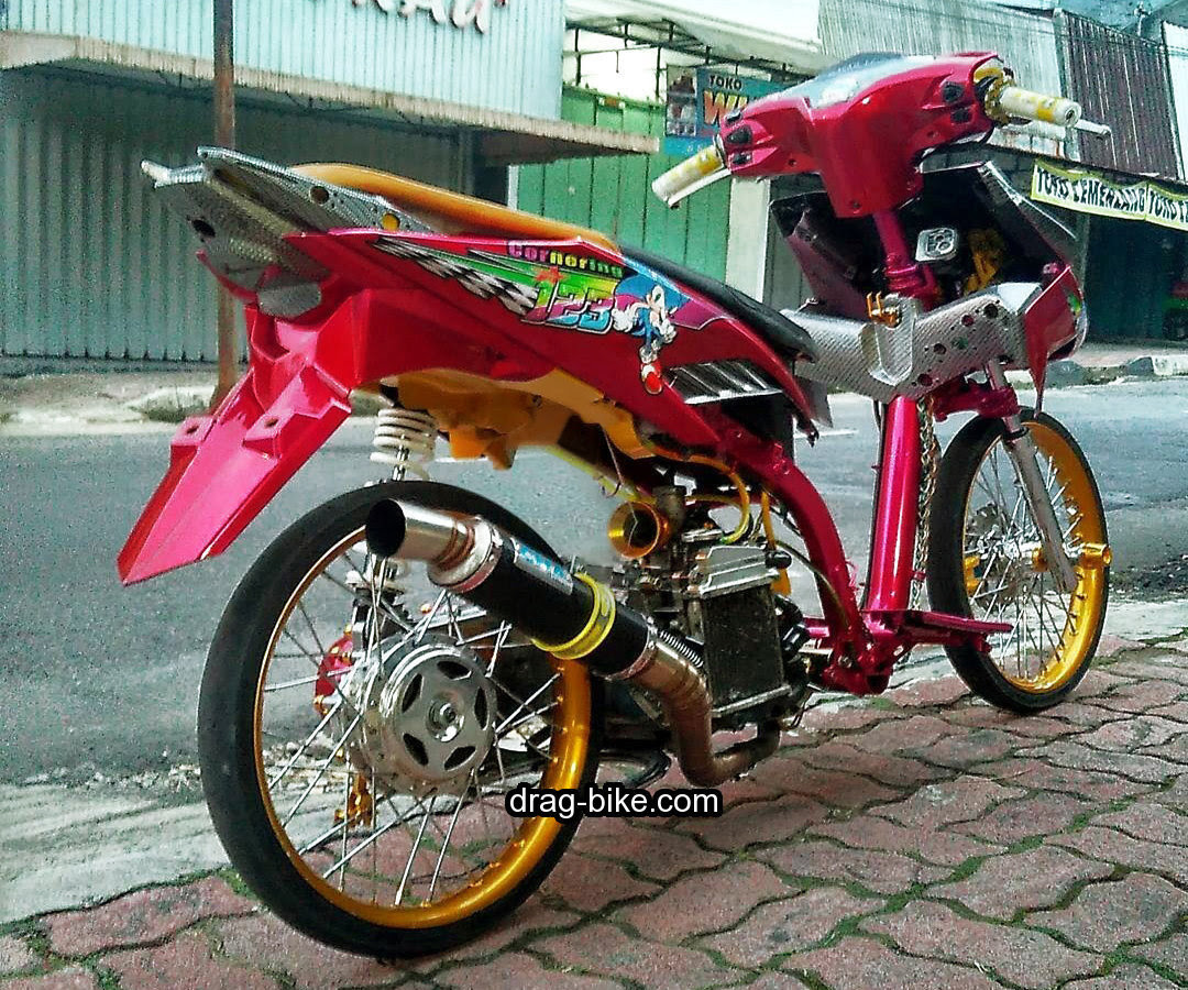 Modifikasi Vario Racing Kumpulan Modifikasi Motor Vario