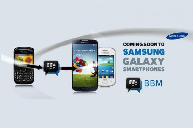 Samsung to offer BBM in Samsung App store for all GALAXY Smartphone devices