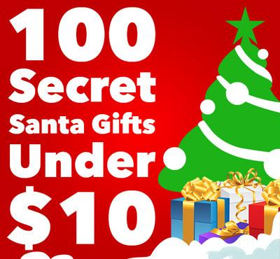 100 Secret Santa Gifts Under 10 The Coolest Stuff Ever Blog