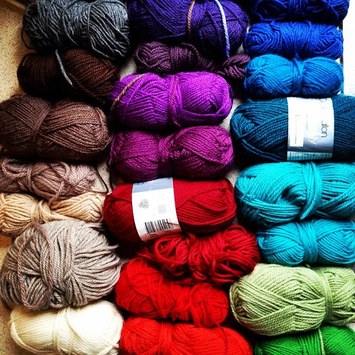 wool stash