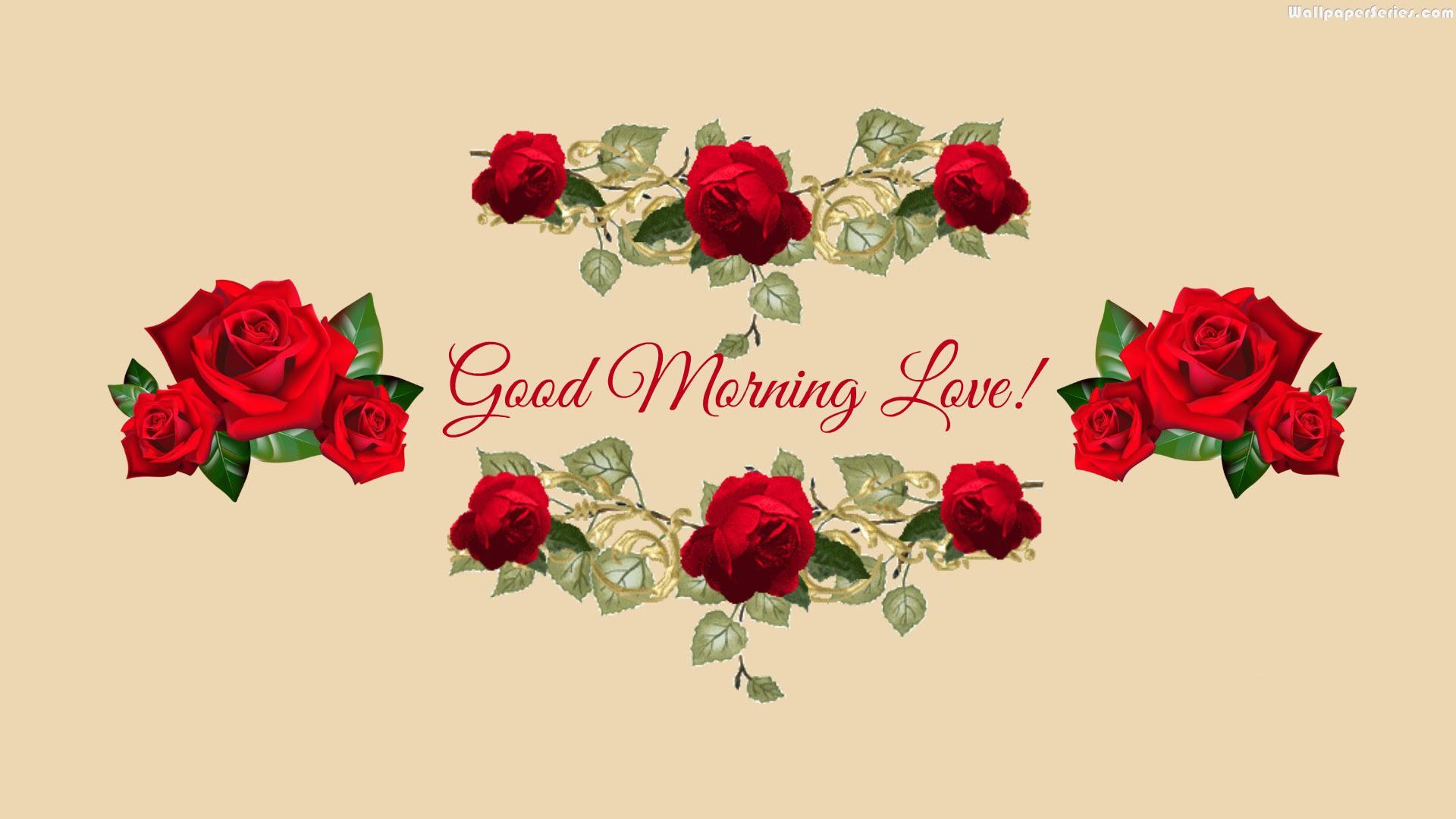 Roses Lovely Good Morning Quotes Wallpaper 05850 Baltana