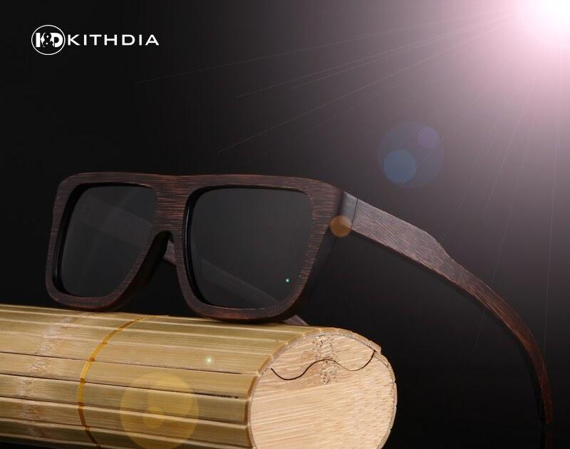 6cd947fe0b Comprar Gafas De Sol Madera KITHDIA Para Hombre, Polarizadas Bambú  Conducir, Monturas Madera, Femeninas Online Baratos |  ahjess-those-stupidlies