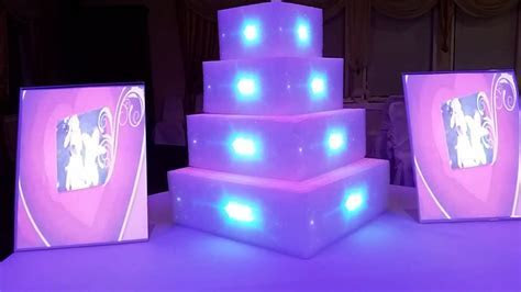 Wedding Cake Projector Mapping Display tutorial   YouTube