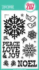 Noel Clear Stamps