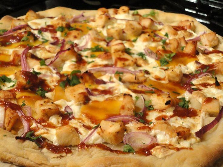 BBQ Chicken Pizza / California Pizza Kitchen copycat recipe