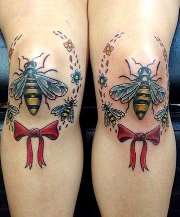Tatuajes Para Ese Lugar Que Jamás Habías Considerado Tus Rodillas
