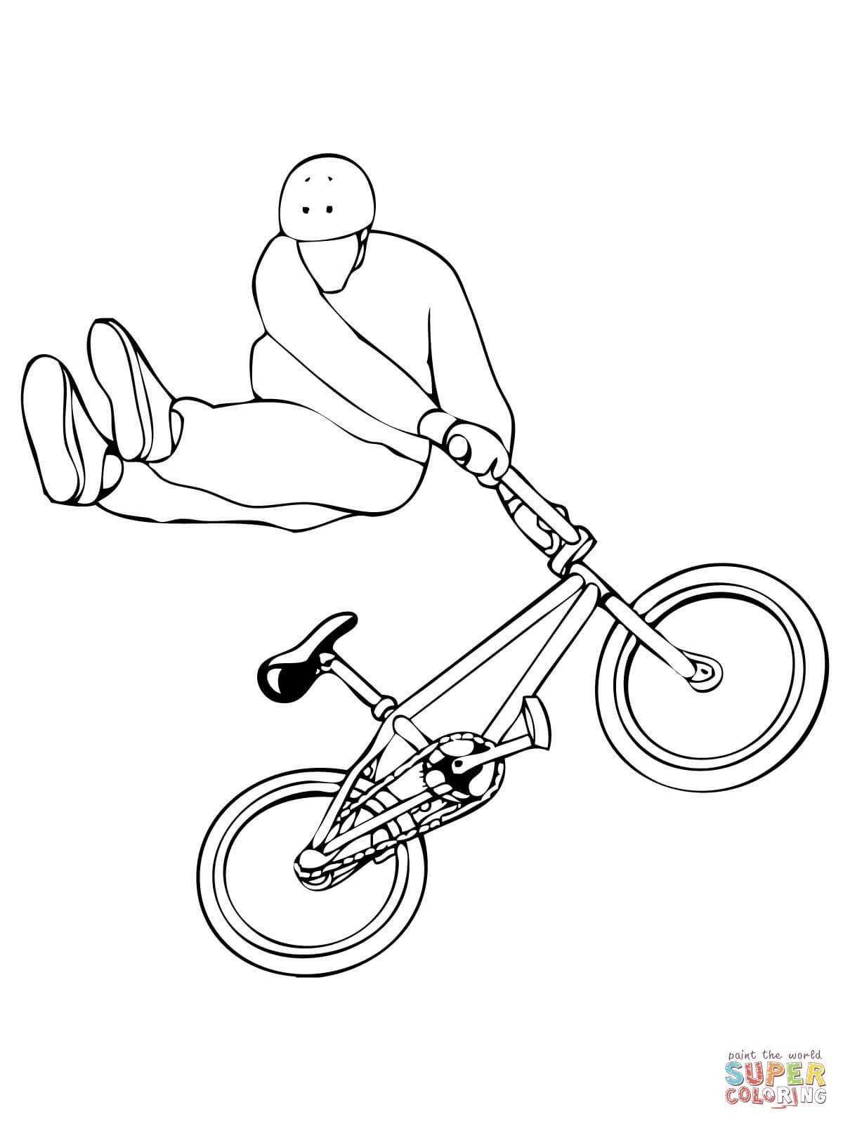 malvorlage fahrrad kostenlos