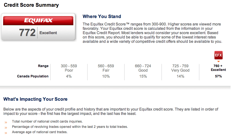 Equifax Credit Report >> Equifax Credit Record Credit Score