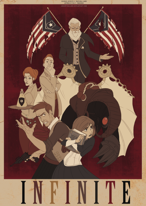 BioShock Infinite Created by Feli Pugliese