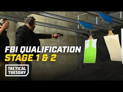 FBI Qualification Course Phases 1 & 2: Tactical Tuesday