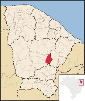 Localização de Solonópole