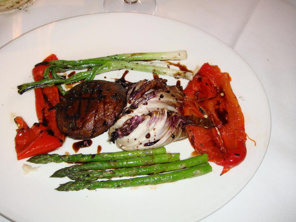 Roasted Vegetables w/Parmasean