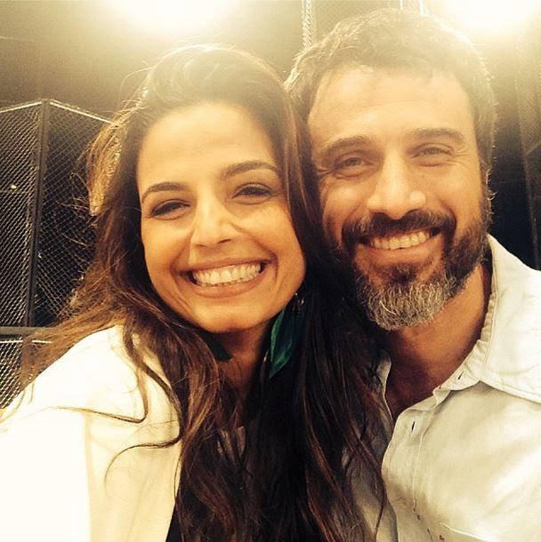 Emmanuele Araújo e Eriberto Leão (Foto: Instagram/Reprodução)