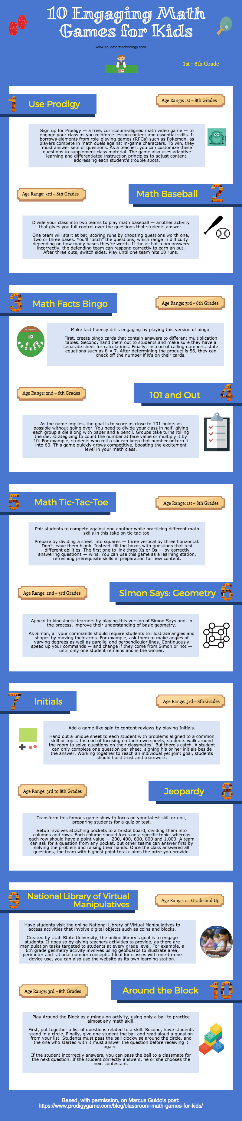 10 Engaging Math Games for Kids