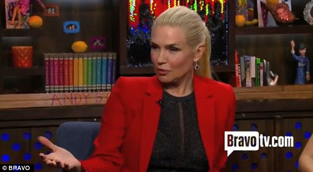 Struggling: Yolanda Foster reveals on Watch What Happens Live she has been battling lyme disease
