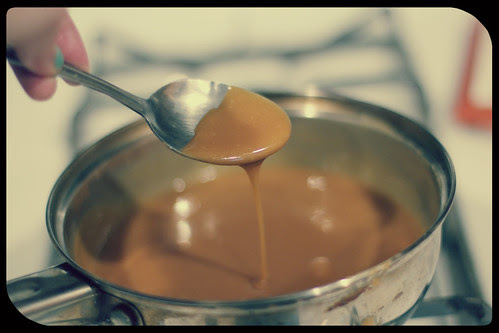 caramel drip