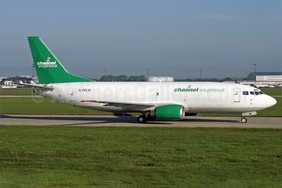 Channel Express Boeing 737-377 (F) G-CELW (msn 23659) STN (Antony J. Best). Image: 911715.