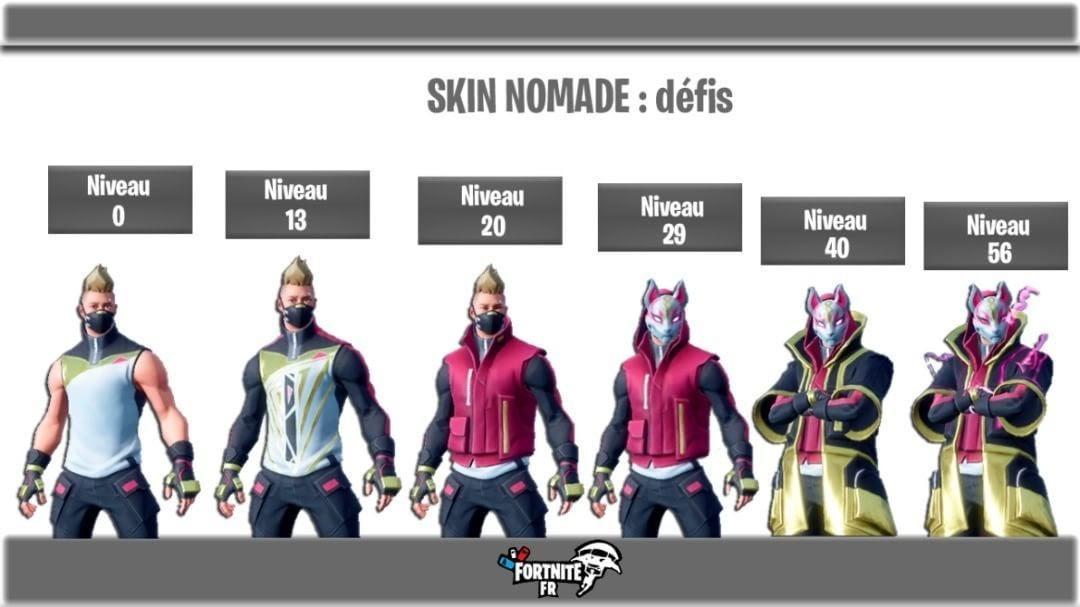 Fond Ecran Fortnite Skin Nomade Fortnite Generator Season 5 -