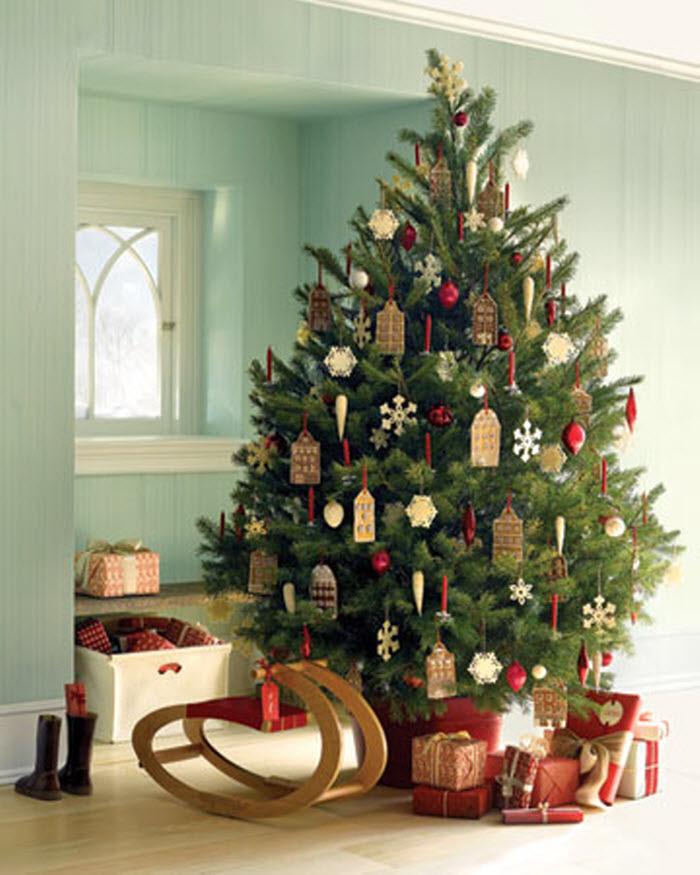 Decorative Christmas Tree Ideas | Home Designing