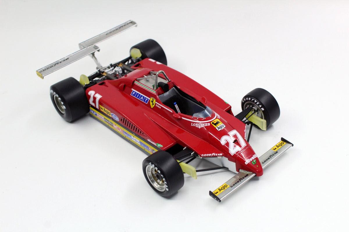 Ferrari 126 C2 Long Beach 1982 F1 1 18 Gilles Villeneuve Gp Rep Triple Crown Modelstore