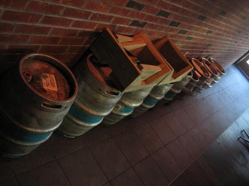 After the casks have gone