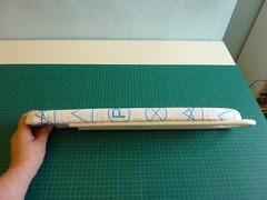 Sleeve Board - Folded down