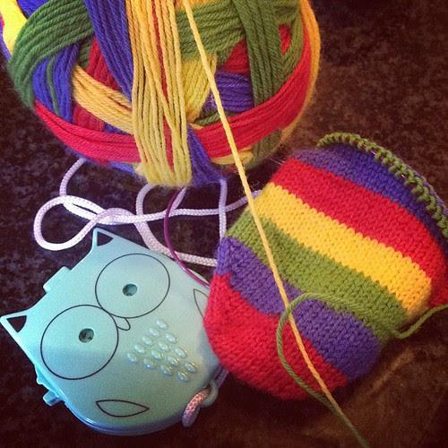 Socks on the go WWKIP 2012