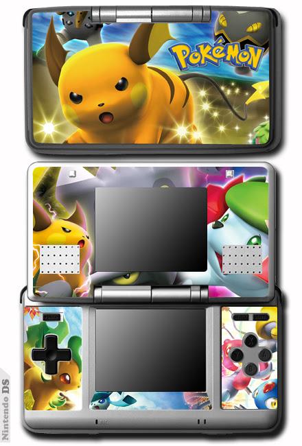 Pokemon SKIN VINYL DECAL Cover STICKER for Nintendo DS  eBay