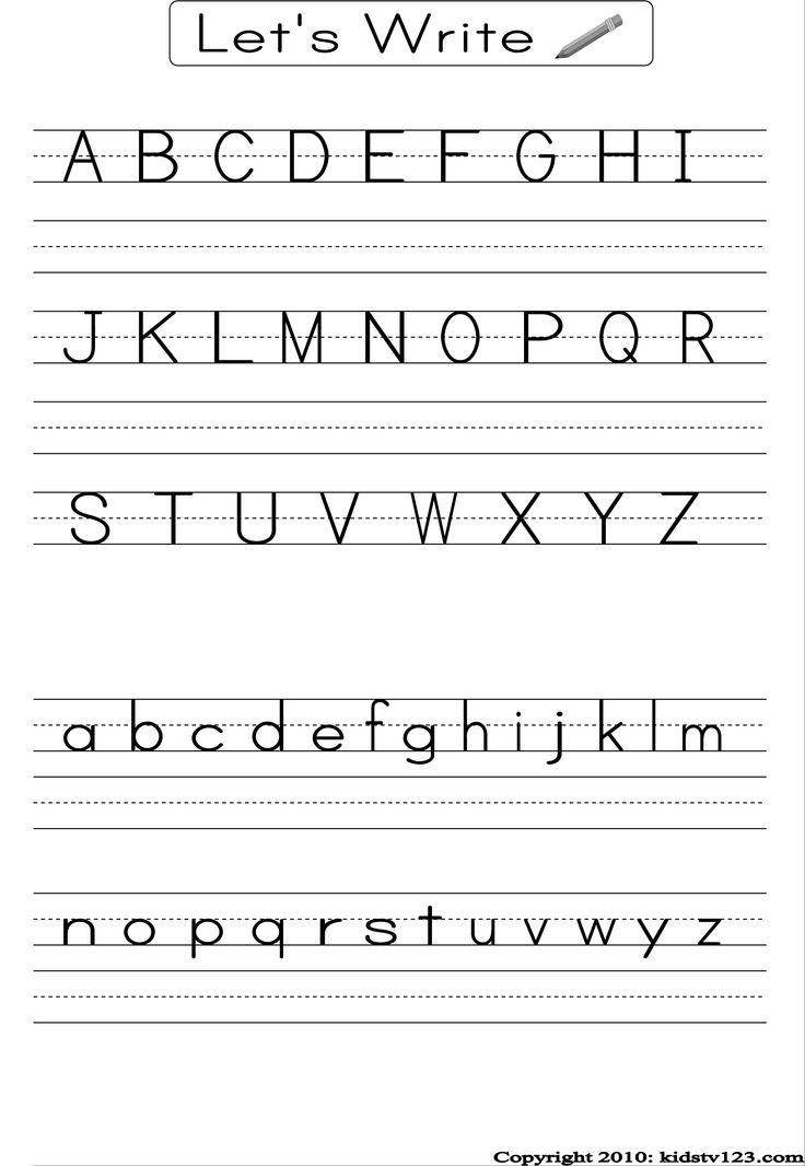 13 Best Of 123 Printable Handwriting Worksheets
