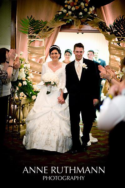 Bride & Groom Reception Grand Entrance Decor