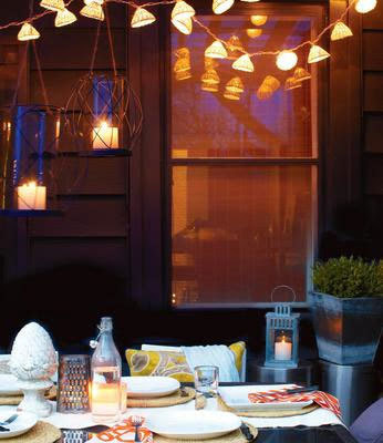 Seven outdoor lighting ideas - Chatelaine