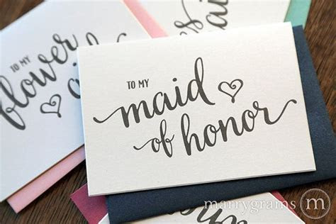 25  Best Ideas about Bridesmaid Thank You Cards on
