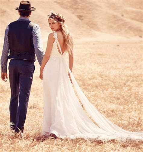 Why Boho wedding dress for an outdoor wedding?   Milanoo Blog