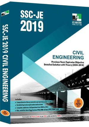SSC-JE 2020 Civil Engineering Previous Years Topicwise Objective Detailed Solution with Theory PDF Download
