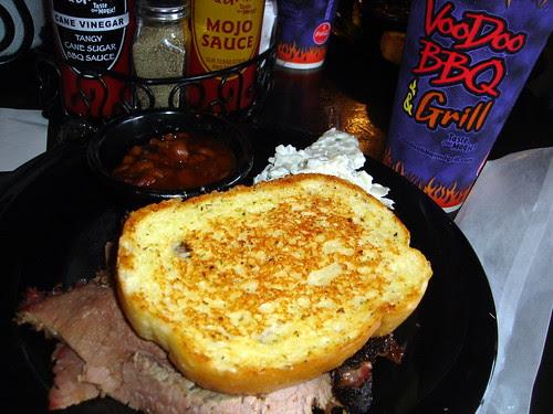 BBQ Brisket at VooDoo BBQ & Grill