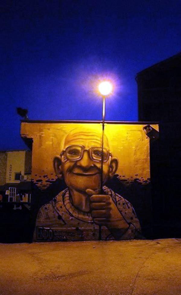 Amazing Huge Street Art on Building Walls (11)