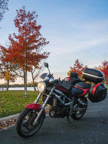 SV650 with Fall Colors