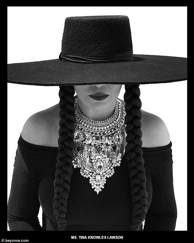 O amor de uma mãe: Tina Knowles Lawson já havia dedicado uma postagem de mídia social a sua criança mais velha na segunda-feira, mas ela, obviamente, se juntou à recreação de formação para o aniversário de Beyoncé
