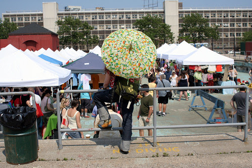 Umbrella look-out