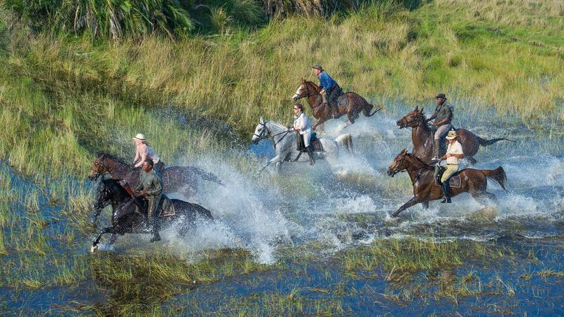 Même au coeur de la saison sèche, d'importantes parties du territoire restent inondées.