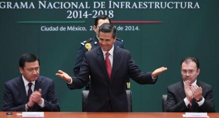 Presentación del Programa Nacional de Infraestructura en abril pasado. Foto: Benjamín Flores.