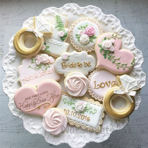917 best Wedding Cookies images on Pinterest   Decorated