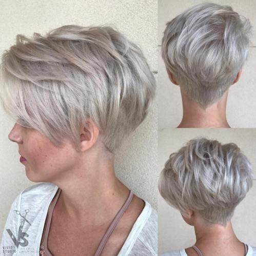 Choppy Short Hairstyles 2019