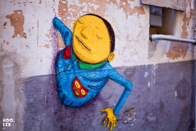 Italian Street Art Festival 'FAME'  with work from OS GEMEOS