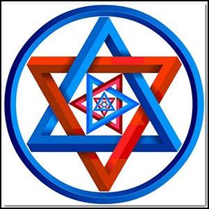Гексаграмма – не еврейский символ