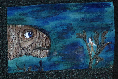 Neverending Story Art Quilt