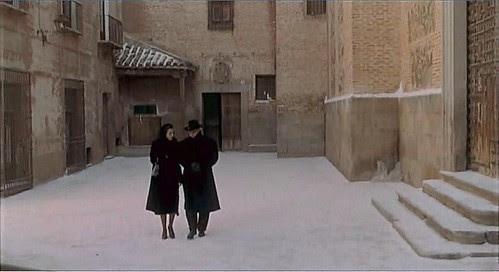 "Plaza de Las Capuchinas, Toledo, en 1969 (Captura de ""Tristana"" de Buñuel)"